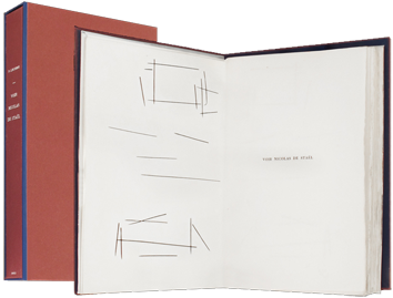 Illustrated book de  : Voir Nicolas de Staël