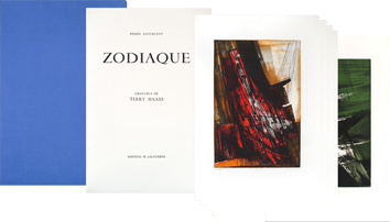 Book with etchings de Haass Terry : Zodiac