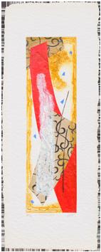 Original signed carborundum de  : Braises