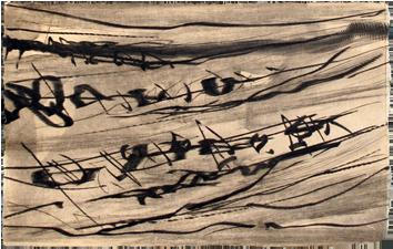 Gravure originale signée de  : Rhétotiques VI