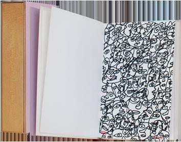 Livre avec sérigraphie de  : Les yeux