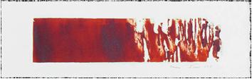 Original signed etching de  : Erosion