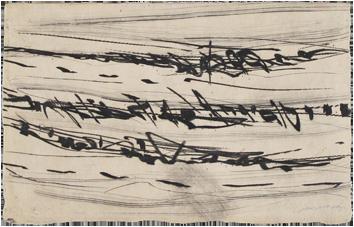 Gravure originale signée de  : Rhétoriques IX