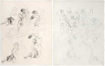 Drawings de  : Studies for sculpture III