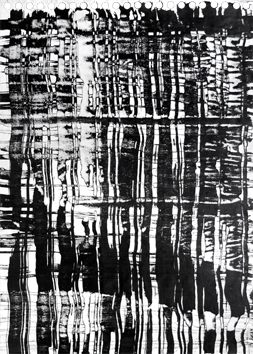Signed single work de  : Vertical Composition II