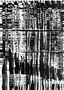 Signed single work de  : Vertical Composition II