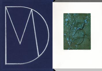 Libro con grabados de  : Homenaje a Marcel Duchamp