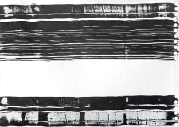 Signed single work de  : Horizontal Composition II
