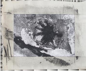 Original signed etching de  : Composition XXXV
