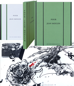 Book with lithographs de  : For Jean Moulin