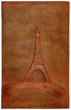Signed sculpture de  : Tour Eiffel