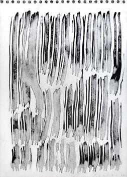 Original signed ink de  : Vertical Composition V