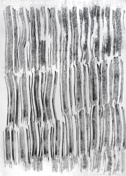 Original signed ink de  : Vertical Composition VI