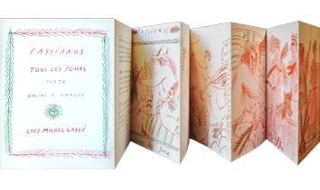 Livre avec lithographies de  : Tous les jours