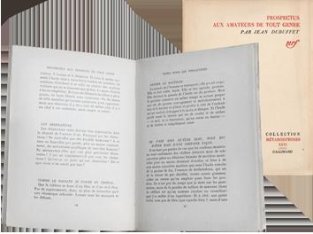 Livre original de  : Prospectus aux amateurs de tout genre