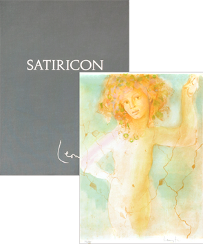 Book with lithographs de  : Satiricon