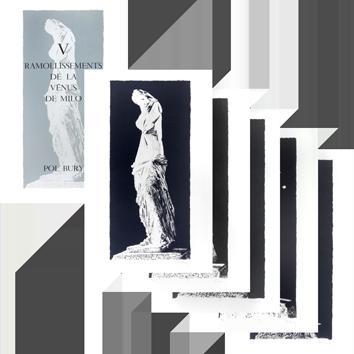 Lithographies originales signées de  : V Ramollissements de la Vénus de Milo