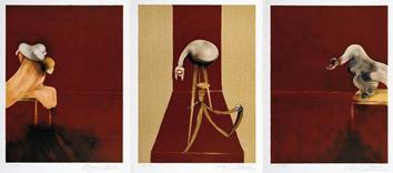 Lithographies de  : Triptyque 44, deuxième version