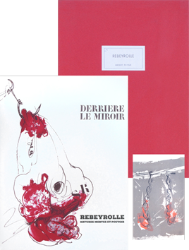 Original lithographs de Rebeyrolle Paul : DLM Deluxe n°219