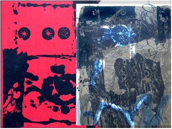 Book with lithographs de  : Trobadors