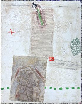 Gravure originale signée de  : Rythmique