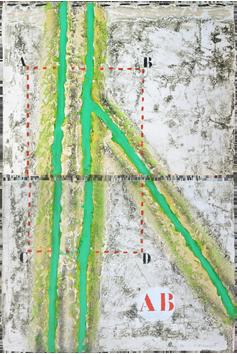 Gravures originales signées de  : Grand angulaire vert