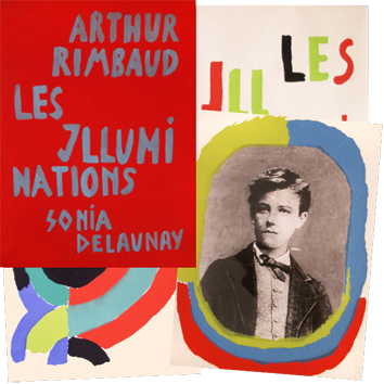 Modern illustrated book de  : Les illuminations