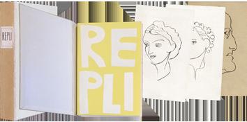 Livre avec lithographies de  : Repli