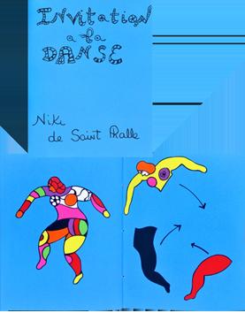 Livre avec sérigraphies de  : Invitation à la danse
