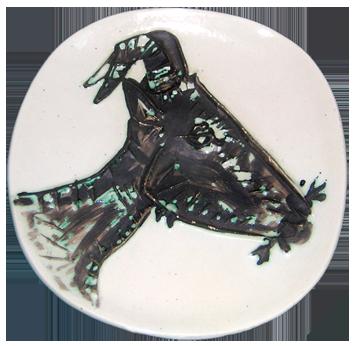 Ceramic de  : Tête de Chèvre de Profil I