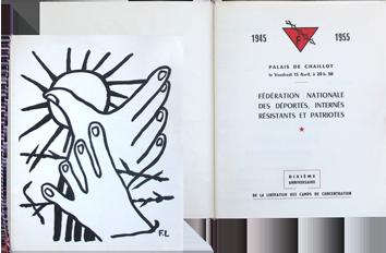 Documento stampato de  : Decimo compleanno, liberazione dei campi di concentrame