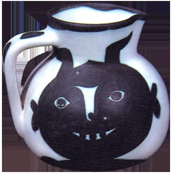 Ceramic de  : Heads jug