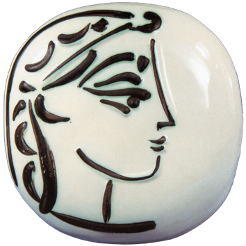 Ceramic de  : Profile of Jacqueline