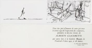 Lithographie de  : Carton d'invitation