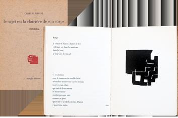 Livre illustré de  : Le sujet est la clairière de son corps