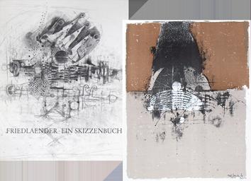 Livre avec lithographies de  : Ein Skizzenbuch (Zeichnungen und Konzepte)