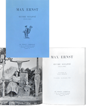 Exhibition catalogue de Ernst Max : The sculptures
