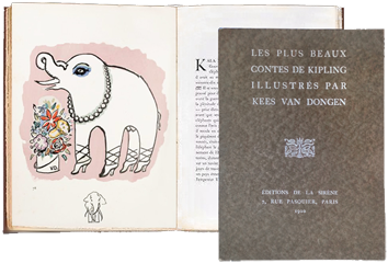Book with prints de  : The most beautiful tales of Kipling