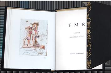 Livre avec gravures de  : FMR