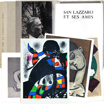 Original prints de  : San Lazzaro and his friends