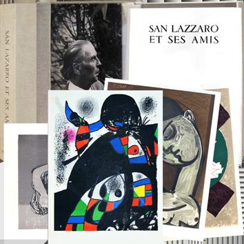 Lithographies originales de  : San Lazzaro et ses amis