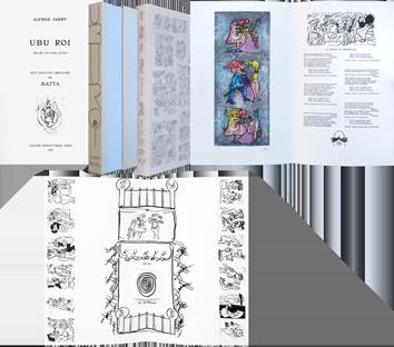 Livre avec gravures de  : Ubu Roi