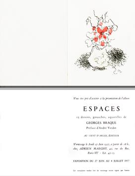 Lithographie de  : Bouquet