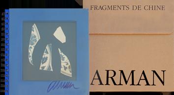 Livre original signé de  : Fragments de Chine