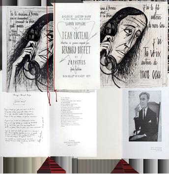 Gravure originale de  : Galerie Lucien Blanc