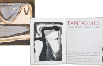 Book with lithographs de  : Fantasmes