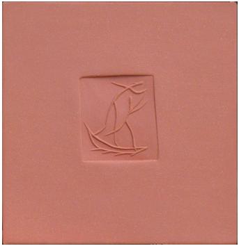 Numbered Madoura ceramic de  : Square with dancers C