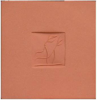 Céramique originale numérotée de  : Plaque avec danseurs B