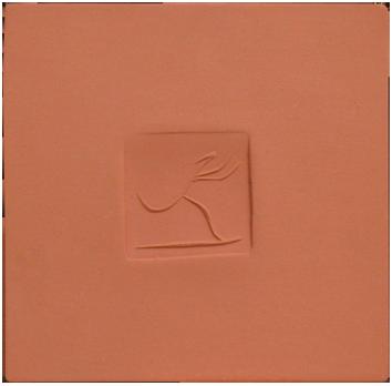 Céramique madoura numérotée de  : Plaque avec danseuse