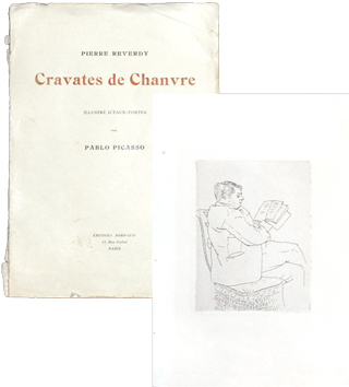 Illustrated book de Picasso Pablo : Cravates de Chanvre